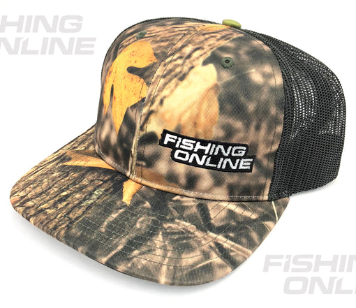 Fishing Online Trucker Hat - Real Tree Camo