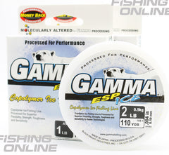 GAMMA ESP ICE Copolymer Ice Fishing Line - Ultra Clear - 1 lb - 2 lb