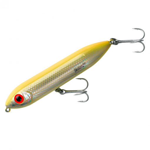Heddon Fishing Salt Water and Fresh Water Super Spook Jr - Bone Silver