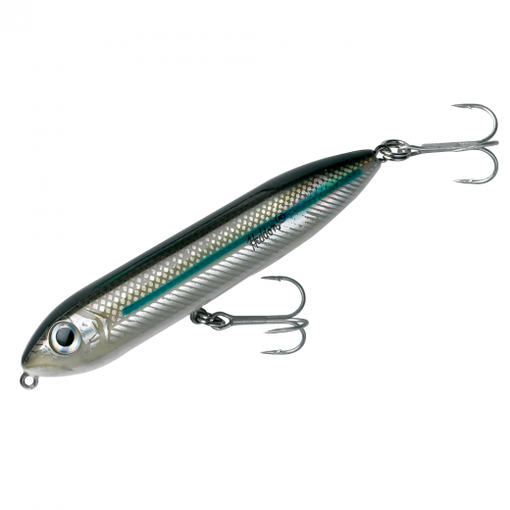 Heddon Fishing Salt Water and Fresh Water Super Spook Jr - Silver Mullet