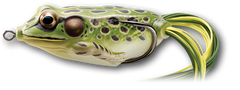 "Live Target Hollow Body Frog [1-3/4"" Green/Yellow]"