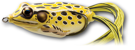 "Live Target Hollow Body Frog [2-1/4"" Yellow/Black]"