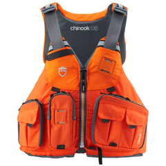 NRS Chinook OS Fishing PFD [Orange]