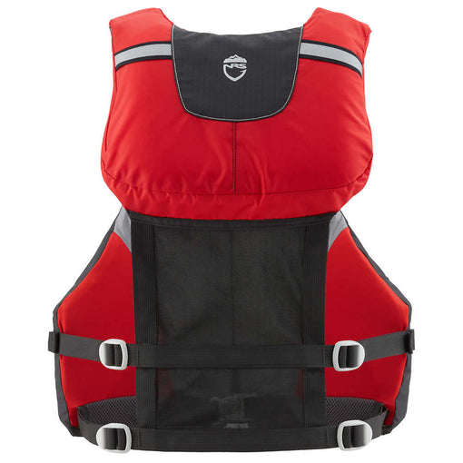 NRS Chinook OS Fishing PFD Back [Red]