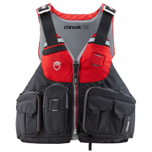NRS Chinook OS Fishing PFD [Red]