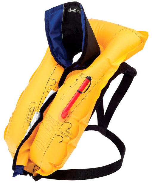 Onyx A/M-24 Inflatable Life Jacket Inflated