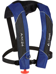 Onyx A/M-24 Inflatable Life Jacket [Blue]