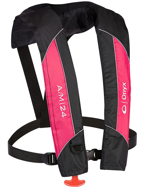 Onyx A/M-24 Inflatable Life Jacket [Pink]