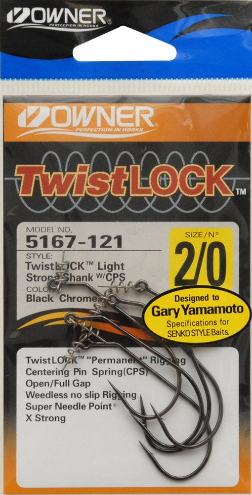 Owner TwistLOCK Light Hooks [2/0]