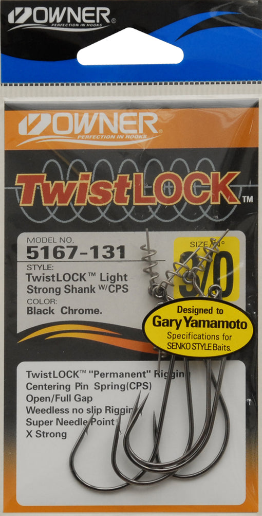 Owner TwistLOCK Light Hooks [3/0]