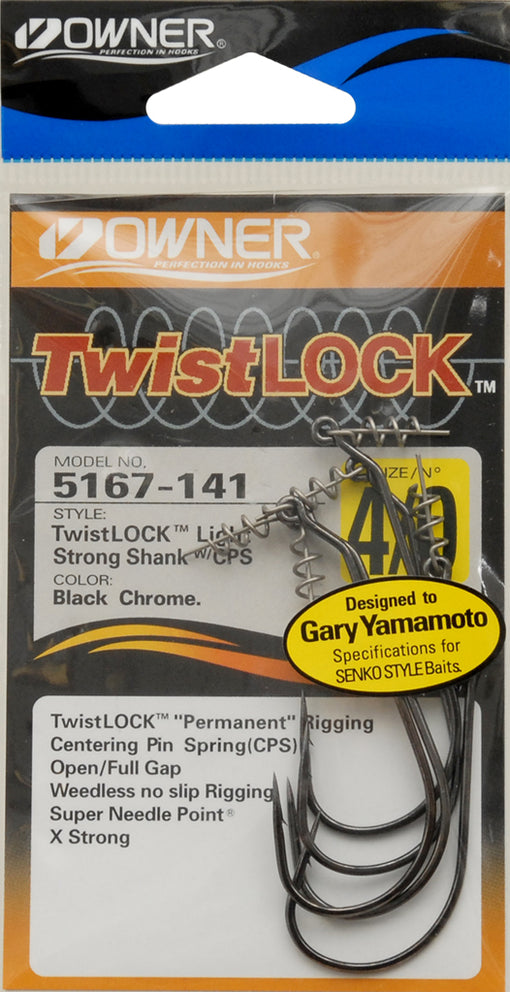 Owner TwistLOCK Light Hooks [4/0]