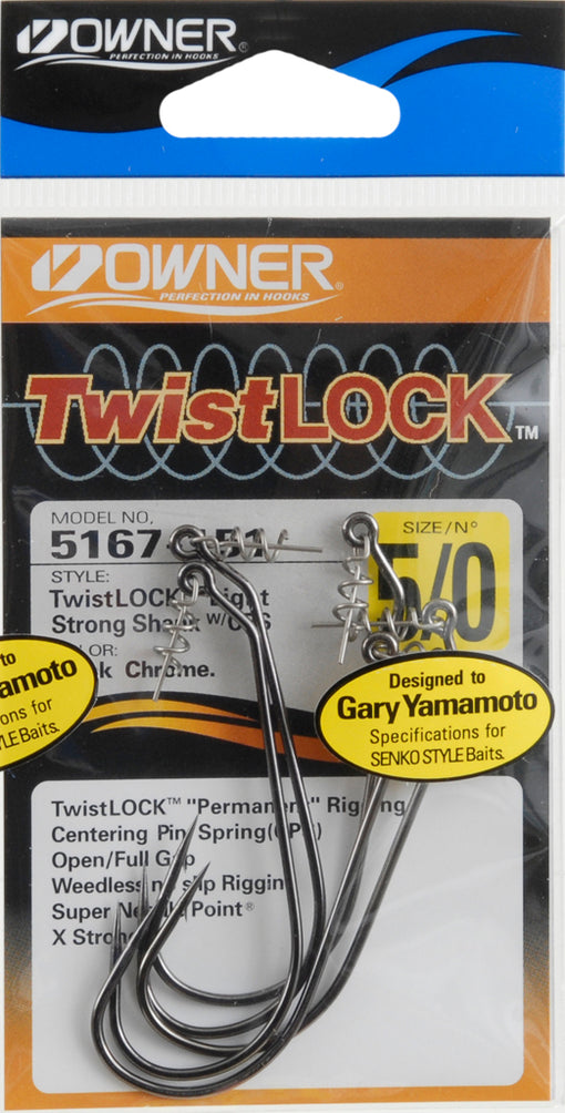 Owner TwistLOCK Light Hooks [5/0]