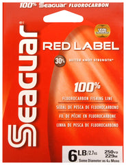 Seaguar Red Label Fluorocarbon Line [6LB 250YDS]