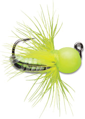 VMC Pro Series Tungsten Fly Jig - Glow Chartreuse