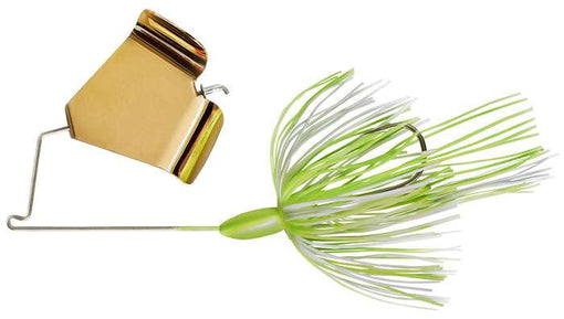 War Eagle Buzzbait Gold Hot White Chartreuse