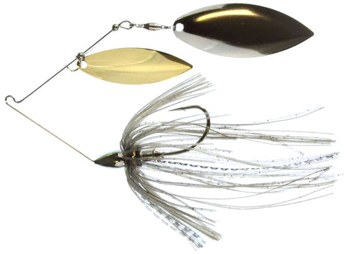 War Eagle Double Willow Spinnerbait 3/8 oz - Nickel Mouse