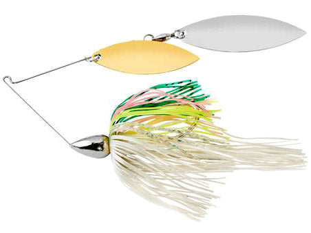 War Eagle Double Willow Spinnerbait 3/8 oz - Nickel Rainbow Trout