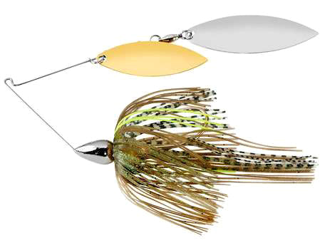 War Eagle Double Willow Spinnerbait 3/8 oz - Nickel Sexxy Mouse