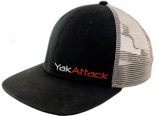 YakAttack BlackPak Trucker Hat [Black/Tan]
