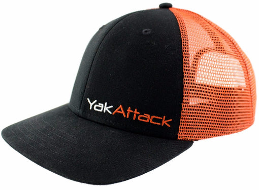 YakAttack BlackPak Trucker Hat [Orange/Black]
