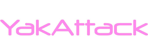 YakAttack Decal / Sticker Pink