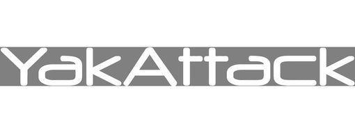 YakAttack Decal / Sticker White