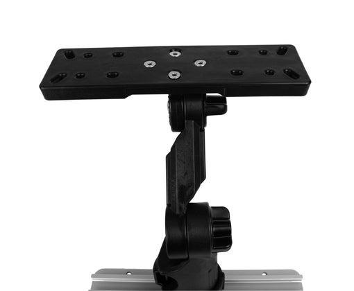 YakAttack Fishfinder Mount with Rectangular Plate [Front View]