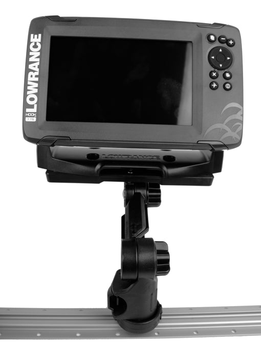 YakAttack Fishfinder Mount with Rectangular Plate [Fishfinder Not Included]