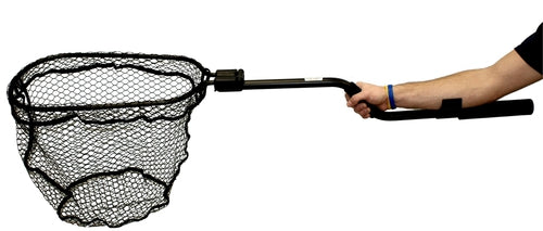 "YakAttack Leverage Landing Net [12"" x 20"" Hoop\, 47"" Long w/ Foam Extension]"