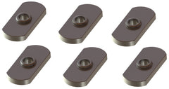 "YakAttack Track Nut - 1/2"" Wide w/ 1/4-20 Threads (6 Pack)"