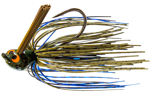 Z-Man CrossEyeZ Flipping Jig [1/2 oz Bruised Green Pumpkin]