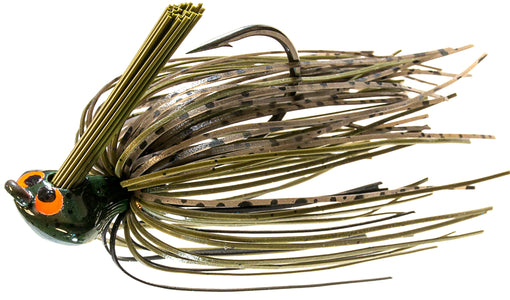 Z-Man CrossEyeZ Flipping Jig [1/2 oz Green Pumpkin]