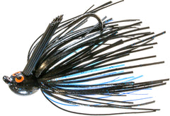 Z-Man CrossEyeZ Power Finesse Jig [1/4 oz Black/Blue]
