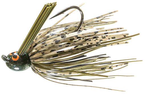 Z-Man CrossEyeZ Power Finesse Jig [1/4 oz Green Pumpkin]