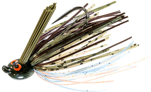 Z-Man CrossEyeZ Power Finesse Jig [1/4 oz Pond Scum]