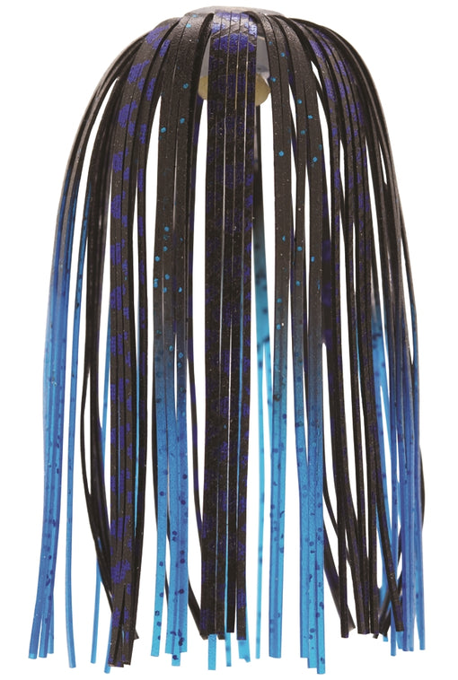 Z-Man EZ-Skirt [Black Blue Chrome/Blue Tips 3 Pack]