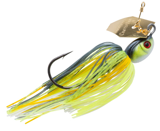 Z-Man Project Z ChatterBait [1 oz Chartreuse Sexy Shad]