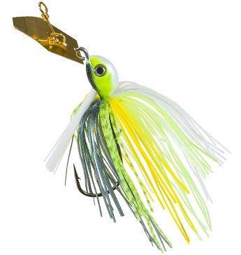 Z-Man Project Z ChatterBait Weedless [1/2 Oz Chartreuse Sexy Shad]