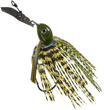 Z-Man Project Z ChatterBait Weedless [1/2 Oz Dark Green Pumpkin]