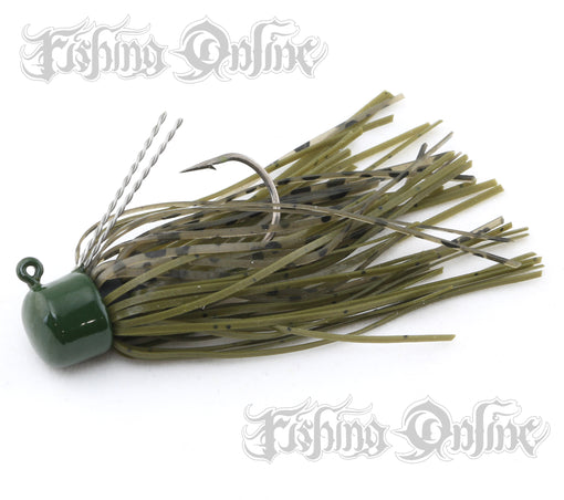 Z-Man ShroomZ Micro Finesse Jig [1/8 Oz Green Pumpkin 2 Pack]