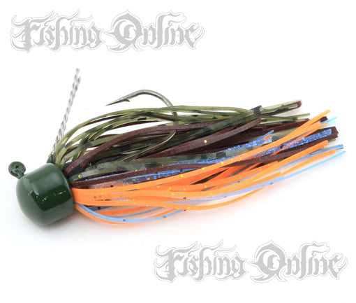 Z-Man ShroomZ Micro Finesse Jig [1/8 Oz Pond Scum 2 Pack]