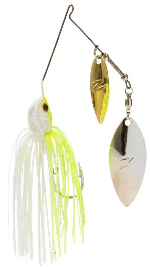 Z-Man Slingbladez Spinnerbait Double Willow Chartreuse Pearl