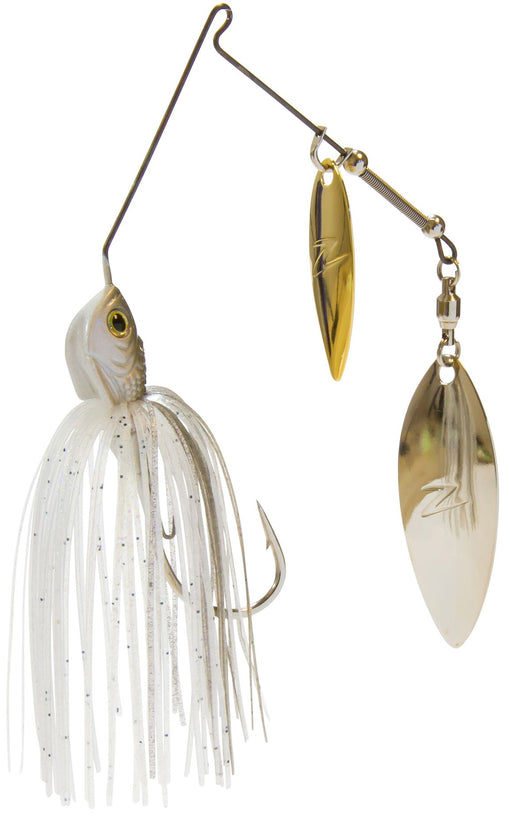 Z-Man Slingbladez Spinnerbait Double Willow Clearwater Shad