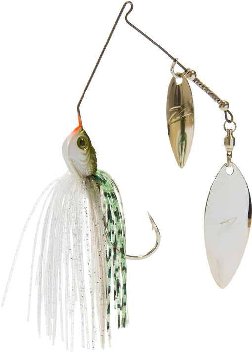 Z-Man Slingbladez Spinnerbait Double Willow Greenback Shad