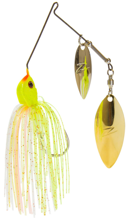 Z-Man Slingbladez Spinnerbait Double Willow Red Perch
