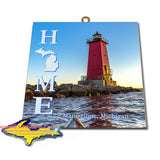 Manistique Michigan Home Wall Art