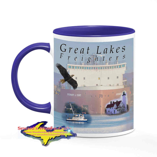 Great Lakes Freighters Mugs Stewart J. Cort Coffee Cup