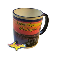 Mackinac Bridge -0016 Love Michigan Mugs & Collectibles
