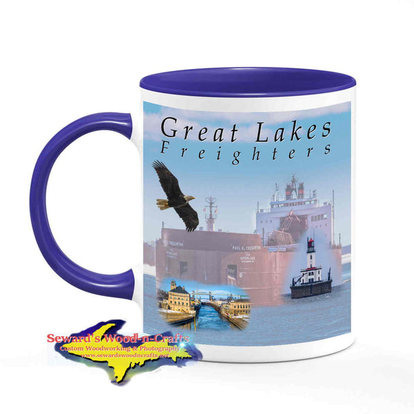 Great Lakes Freighters Mugs Paul R. Tregurtha Coffee Cup Boat Fans Gifts & Collectibles
