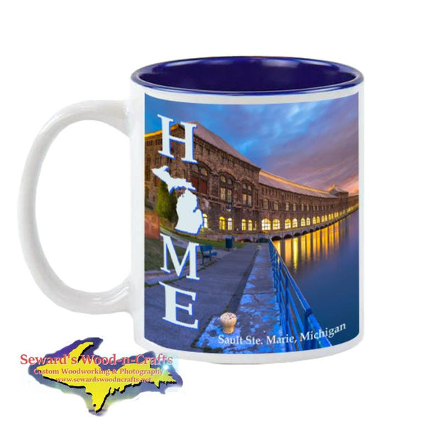 Michigan Made Coffee Cup/Mug Home Sault Ste. Marie Cloverland Electric Powerplant